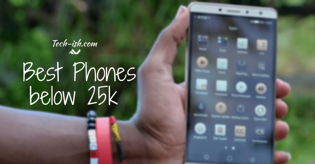 Smartphones under 25k Kenya