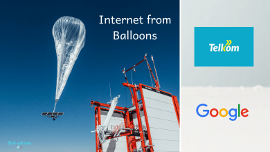 Internet from Balloons Telkom Kenya Loon Inc