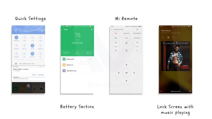 Mi UI vs stock Android