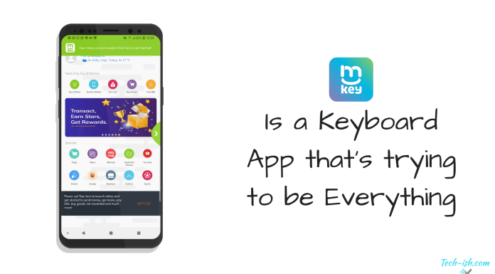 mkey Is a Keyboard App that's trying to be Everything