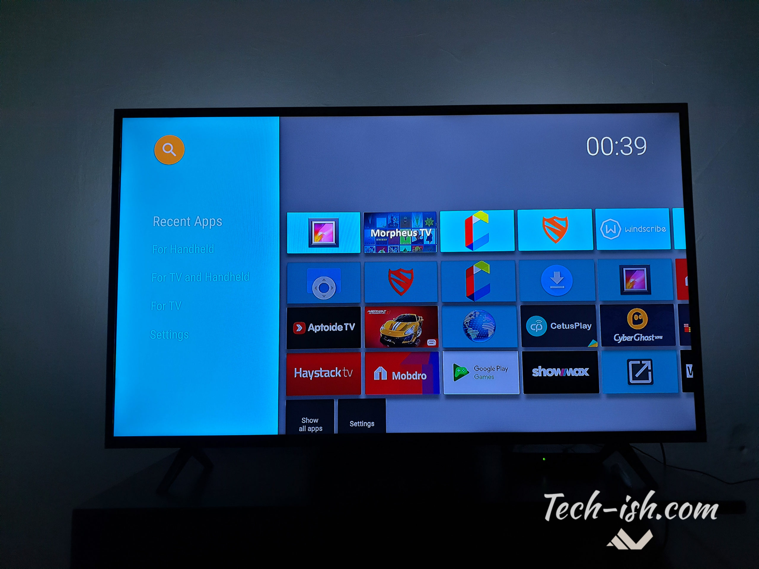 🐈 Sideload launcher for android tv | Leanback Launcher is