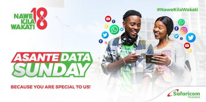 Safaricom Asante Sunday