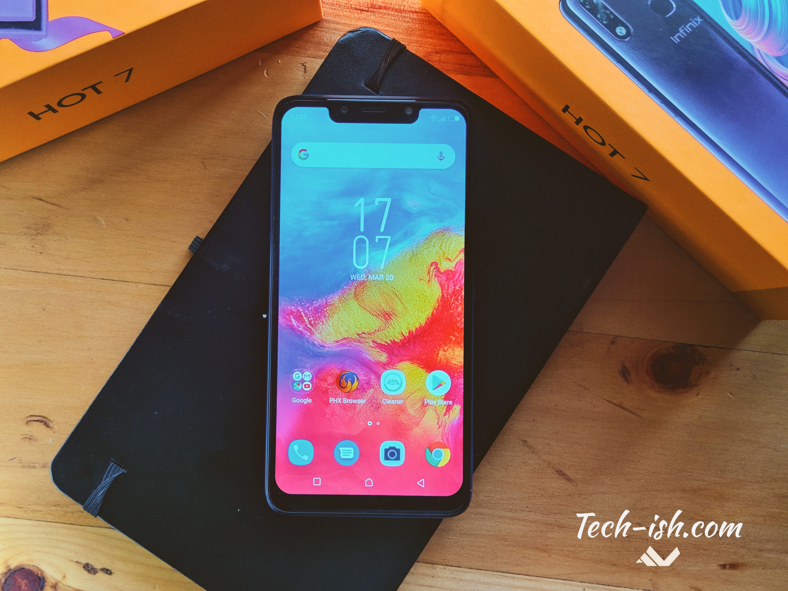 Unboxing the new Infinix Hot 7 and First Impressions | Techish Kenya