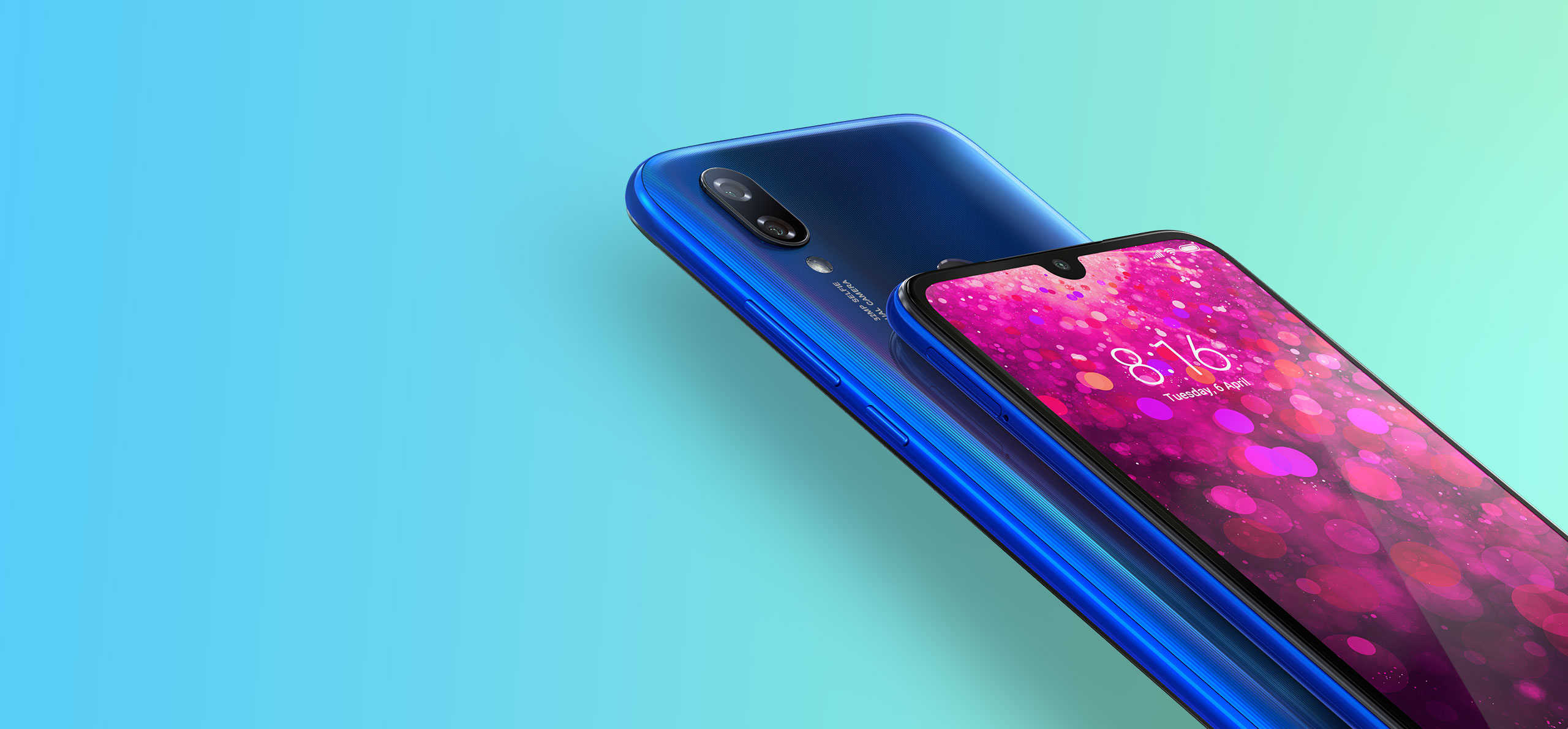 "Display Type Waterdrop display Price Ksh 14,500 - 3GB/32GB ROM variant Ksh 17,500 - 4GB/64GB ROM variant Size 6.26"" Resolution 720*1520 Protection Gorilla Glass 5 + p2i hydrophobic coating Platform Operating System MIUI 10 based on Android Pie Chipset Qualcomm's Snapdragon 632 CPU Octa-core (4x Cortex-A73, 4x Cortex-A53) GPU Adreno 506 Memory RAM 3/4GB Internal 32/64GB External microSD, up to 512GB Network Technology Dual 4G Dual VoLTE SIM Dual nano-SIM Camera Main Dual: Main: 12MP, f/2.2, 1.25 micron pixels Secondary: 2MP depth sensor, phase detection autofocus, LED flash Front 32MP Battery Size 4000mAh Type Li-Ion Colors Prime Black, Bold Red, Elegant Blue Features Rear Fingerprint reader, IR blaster."
