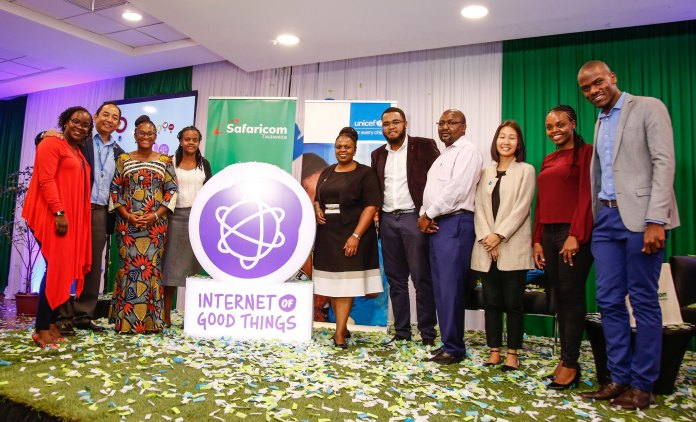 Internet of Good Things provides access to life-saving and life-enhancing information, free of data charges by Safaricom