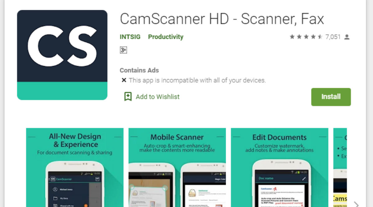 Delete 'CamScanner' Right Now