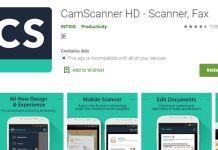 Camscanner Malware