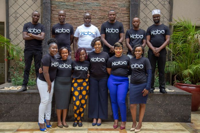 Kagure Wamunyu with Kobo360 Kenya Team