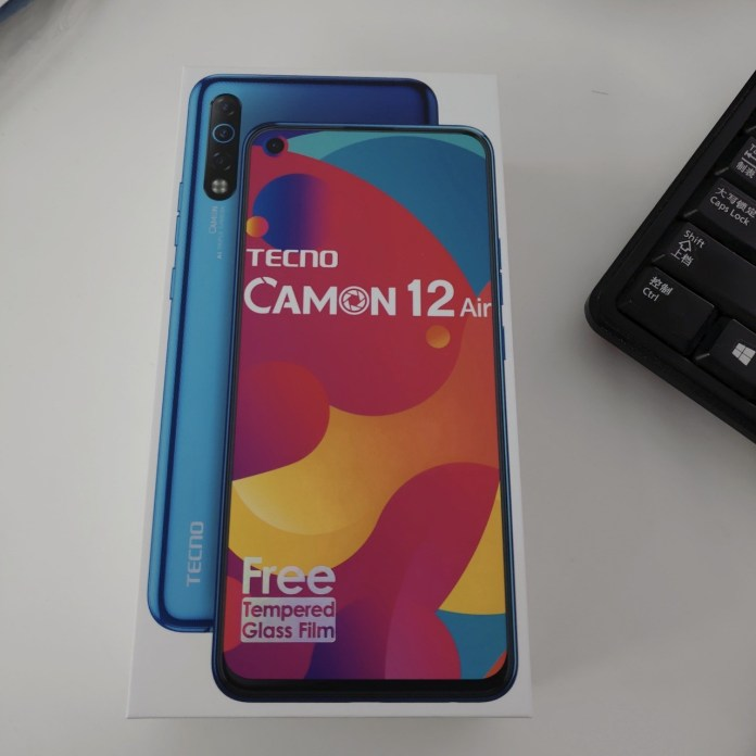 TECNO Camon 12 Air Unboxing