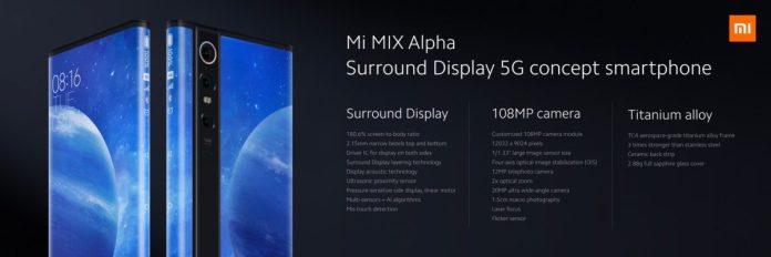 Xiaomi Mi Mix Alpha All Screen