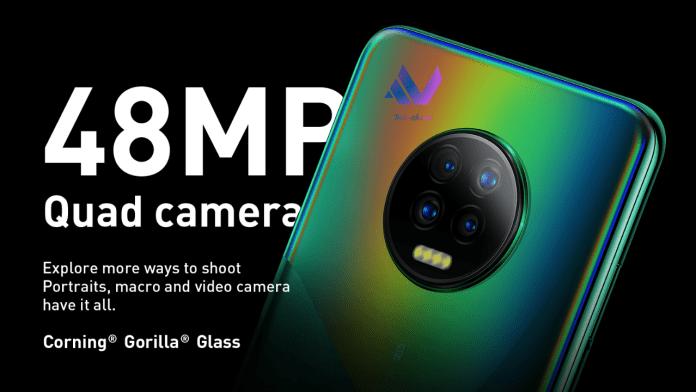 Infinix NOTE 7 Cameras