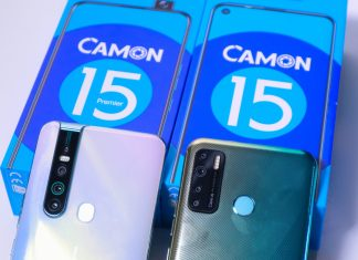 Difference between TECNO Camon 15 Premier and Normal Camon 15