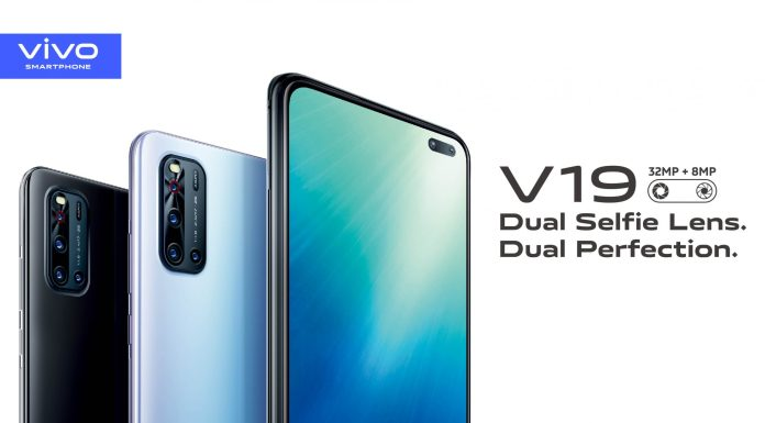 Vivo V19 with Dual Selfie Cameras, and Super-fast charging launching soon