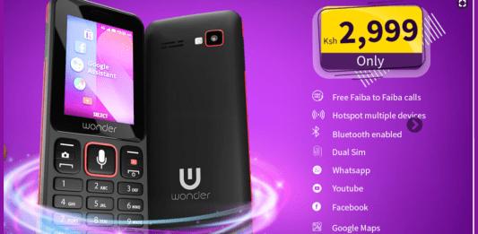Faiba 4G KaiOS Phone Kenya