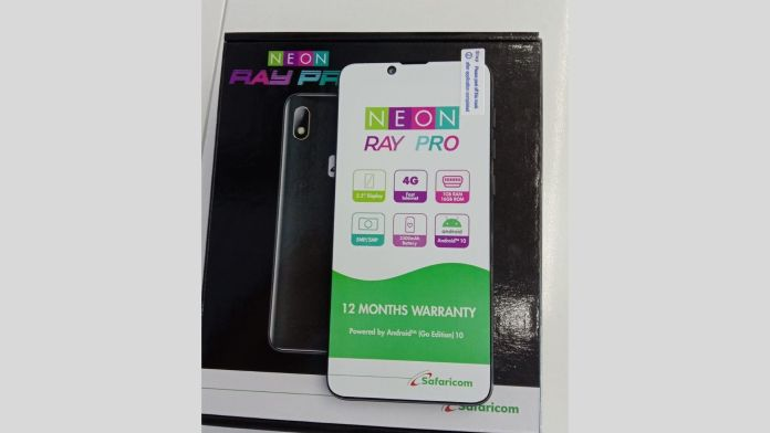 Safaricom Neon Ray PRO Specifications and Price in Kenya