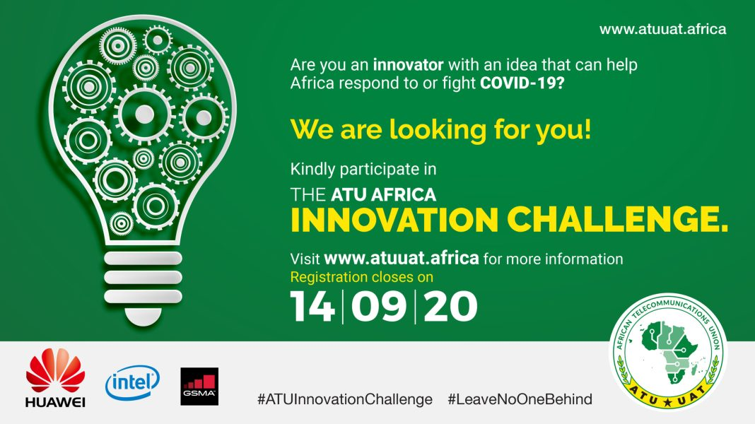 Are you a young African innovator with a cool idea you believe could help in the fight against COVID-19? Well, try out the Africa Telecommunication Union (ATU) challenge, share out your ideas, and stand to not only have it implemented but to also carry home a cash award of USD 5000.