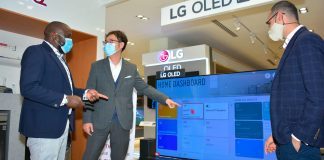 LG Electronics launches its ThinQ Experience Zone at the Sarit Centre