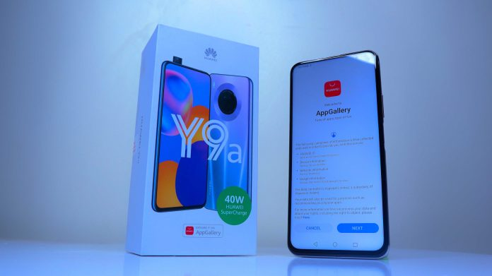 Huawei Y9a Unboxing and First Impressions
