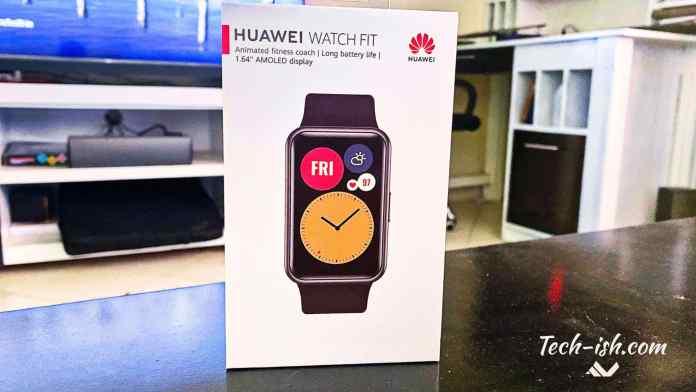 Huawei is launching the Watch FIT in Kenya soon
