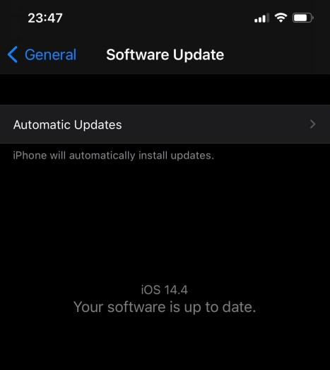 Updating iOS and iPadOS to version 14.4: Why is it so important?