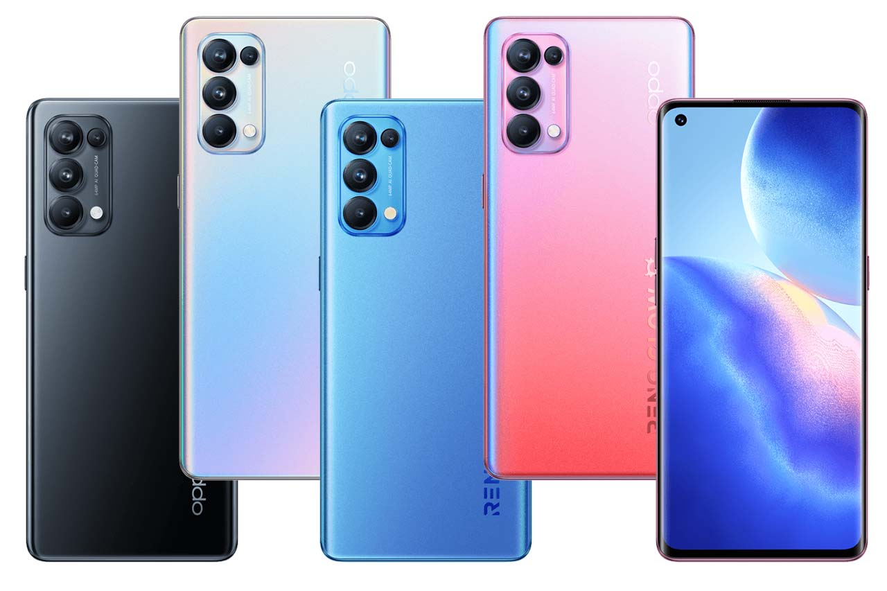 OPPO Reno 5 (4G) Specifications and Price in Kenya