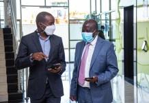 Cabinet Secretary ICT & Innovation, Mr. Joe Mucheru and Konza Technopolis Development Authority CEO, Eng. John Tanui