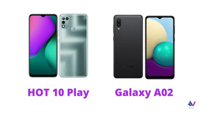 Infinix HOT10 Play vs Galaxy A02