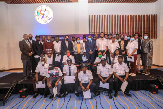The first batch of 'Drone Pilots' graduate from Drone Space Kenya