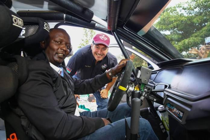 Safaricom partners with Carl Tundo for this week's WRC Safari Rally