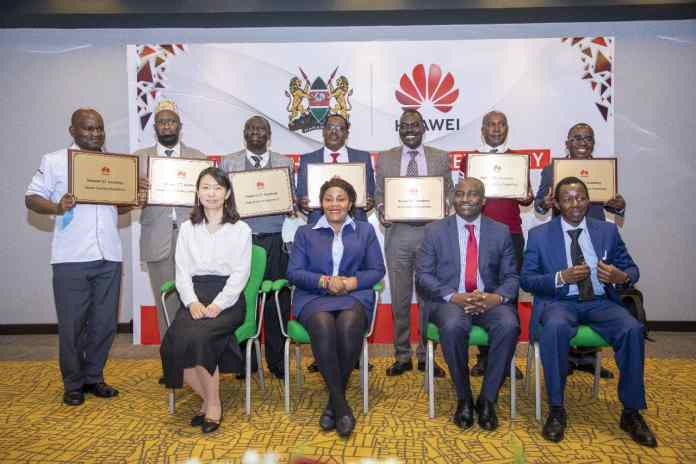 Huawei Kenya will offer training to students in Vocational and Technical Training