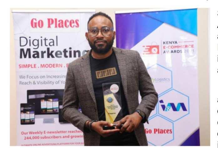 Finserve Africa Bags Award at the Kenya E-Commerce Awards 2021