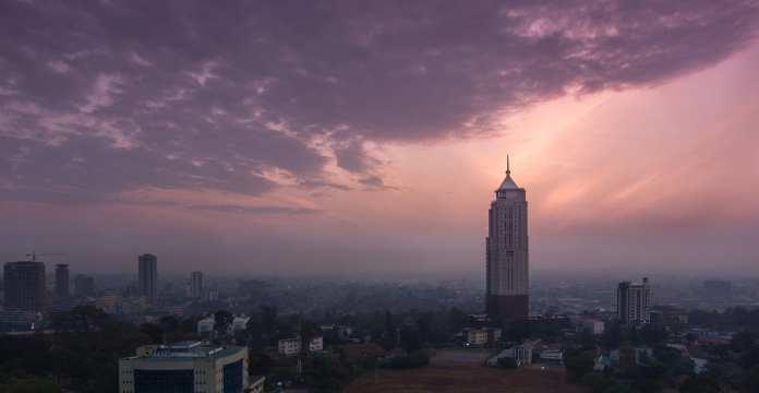 Kenya Digital Billboards in Nairobi Stream Real-time Air Pollution Data