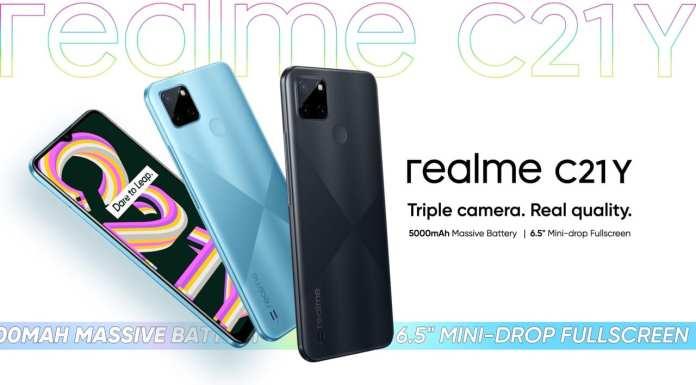 realme C21Y now available in Kenya
