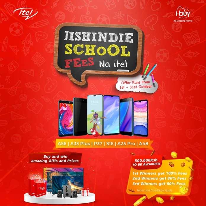 itel announces 'Jishindie School Fees na itel' Promotion