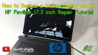 How to replace a broken laptop screen - Repair Tutorial.