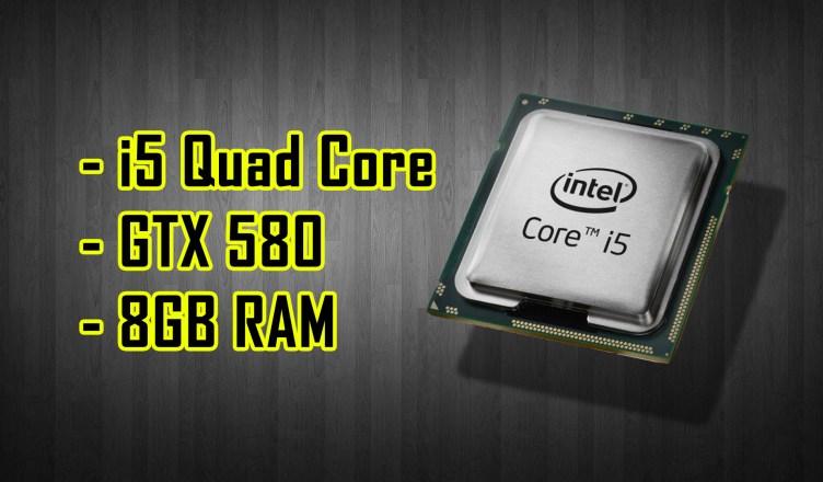 Gaming Benchmark Nvidia GTX 580   Intel Core i5-750  8GB DDR3