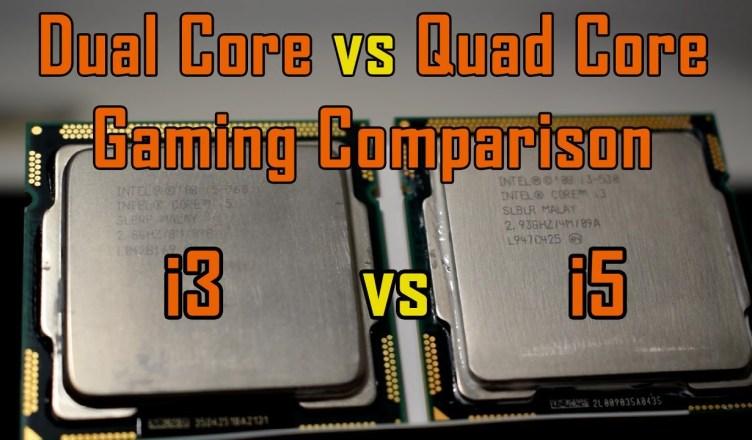 4 Cores vs 4 Threads Gaming Test Comparison Intel Core i3 vs Core i5 vs GTX960 4GB