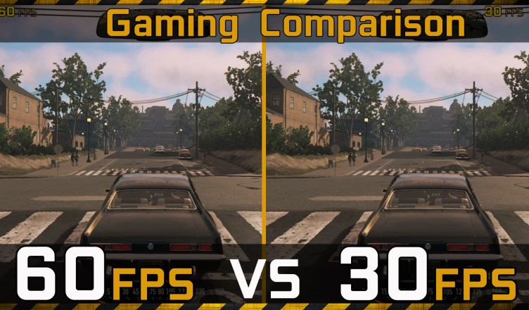 60FPS vs 30FPS Gaming Experience Comparison
