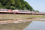 鉄道写真 春の北陸本線