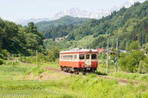 大糸線キハ52国鉄色