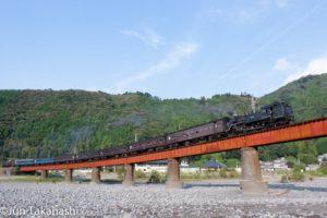 大井川鐵道SL 大井川第一橋梁