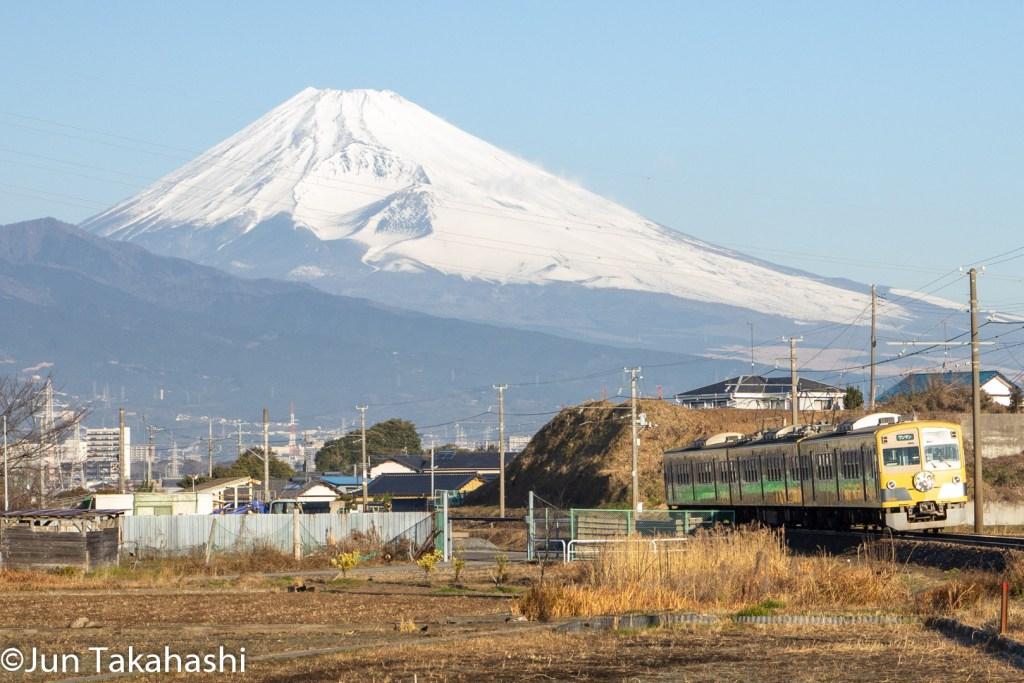 伊豆箱根鉄道富士山バック撮影地