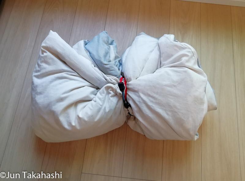 毛布が簡単に縛れる