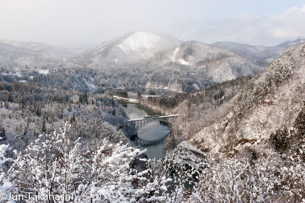 只見線絶景撮影地 第一只見川橋梁