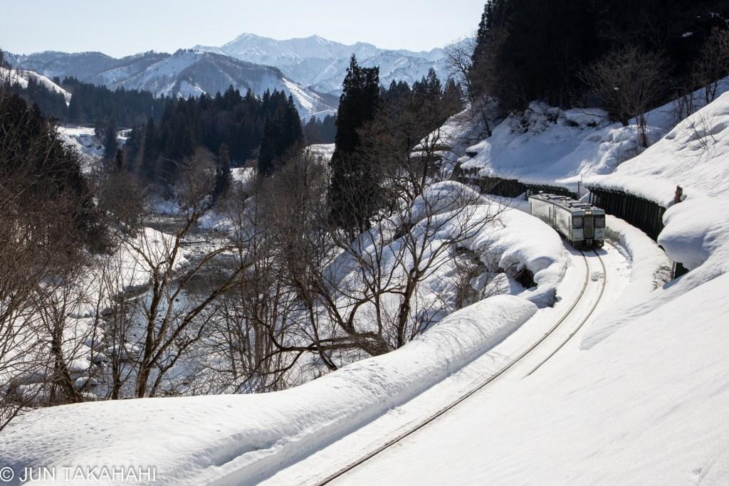 只見線雪景色