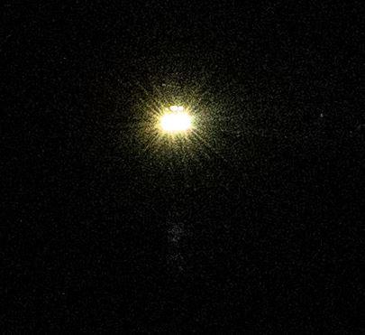 暗闇でのEOS R6 AIサーボAFテスト撮影