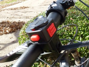 Bike Mount: Front View