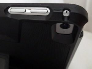 Thule Atmos X3 for iPad Air 2: Volume Button View