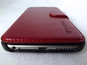 Verus Dandy Layered Wallet Case: Front Bottom View