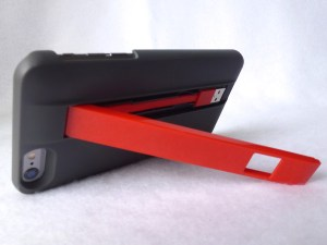 Acme Made Charge Case for iPhone 6 Plus: Horizontal kickstand mode